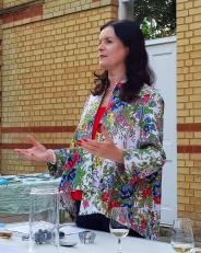 Colete Taylor, wine educator